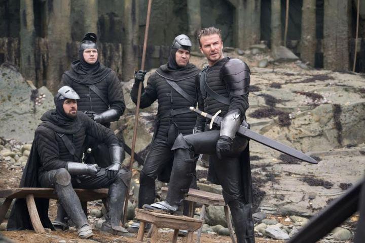 David Beckham King Arthur
