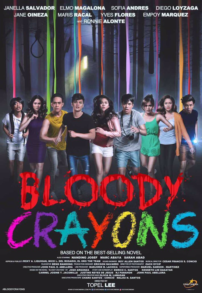 Bloody Crayons Poster