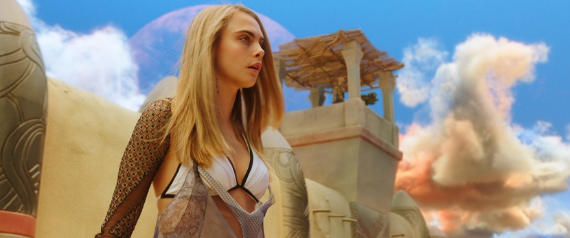 cara delevingne as laureline in VALERIAN