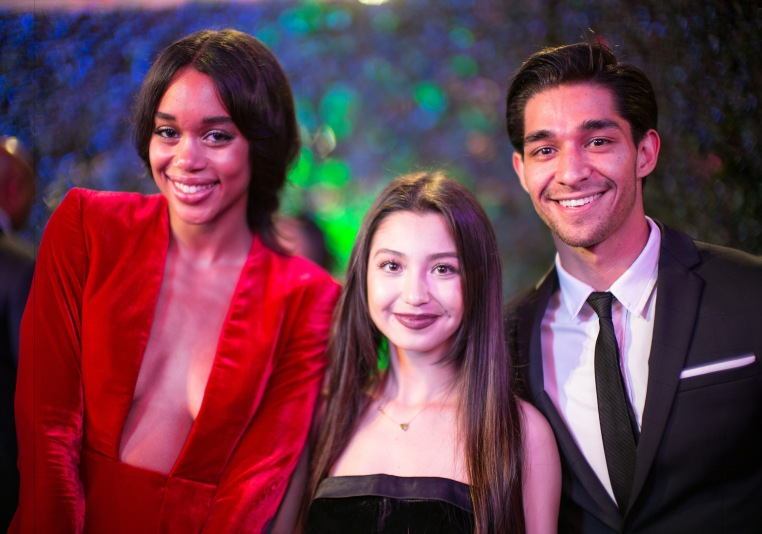 Donnalyn and Wil with Laura Harrier