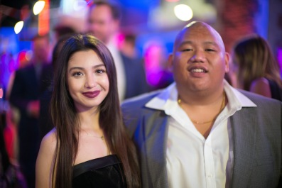 Donnalyn with Fil-Am Actor Jacob Batalon