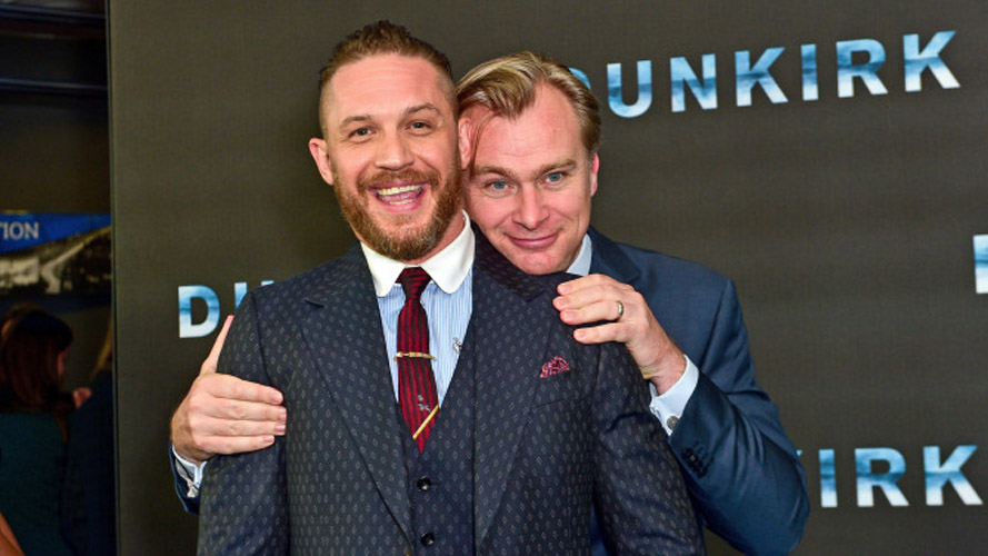 Managed by SilverhubTom Hardy and Christopher Nolan Dunkirk World Film Premiere BFI IMAX, London, UK - 13 Jul 2017 (Rex Features via AP Images)