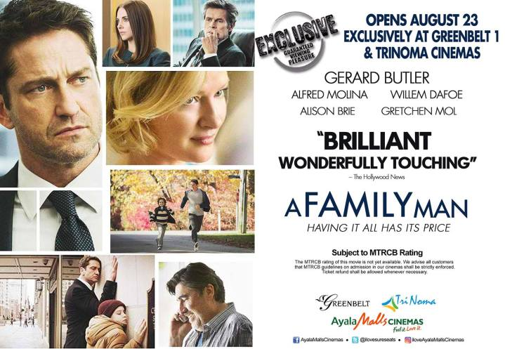 A FAMILY MAN - AYALA MALLS CINEMAS exclusive