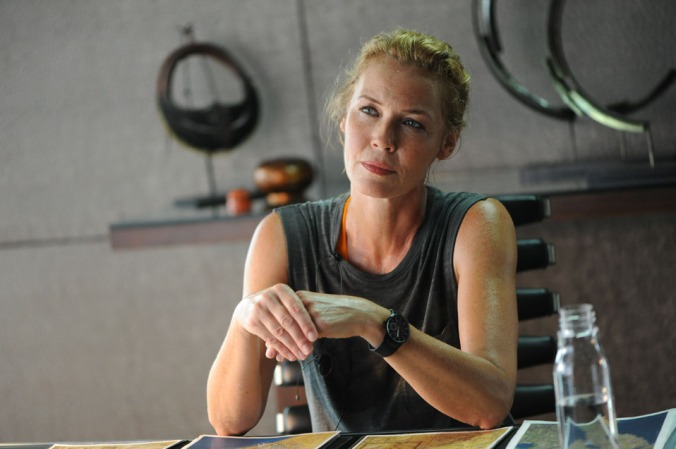 connie nielsen in HARD TARGET