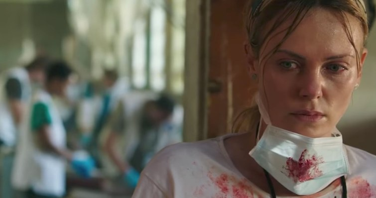 charlize theron in THE LAST FACE