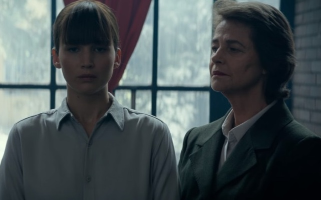 jennifer lawrence & charlotte rampling in RED SPARROW