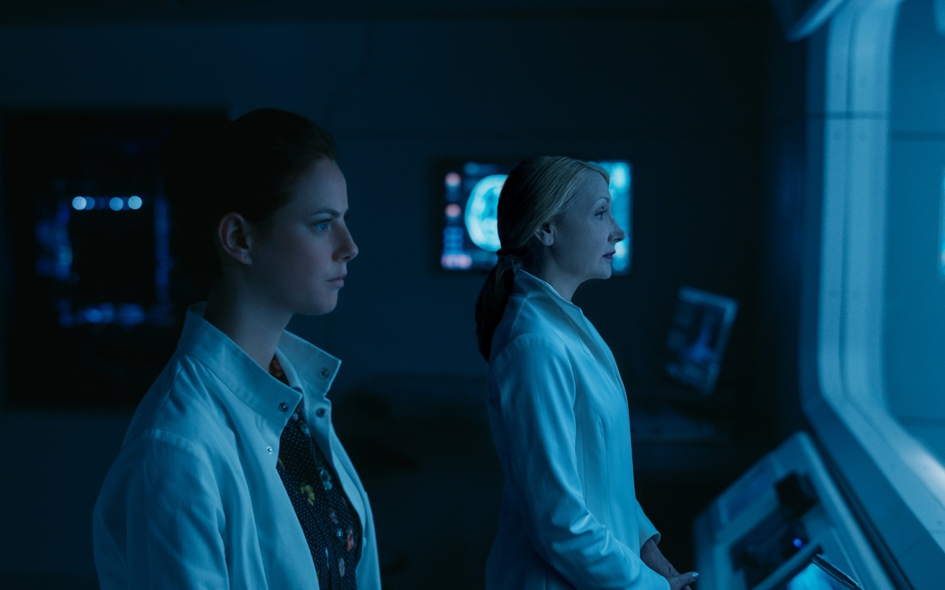 Kaya Scodelario & Patricia Clarkson in MAZE RUNNER THE DEATH CURE