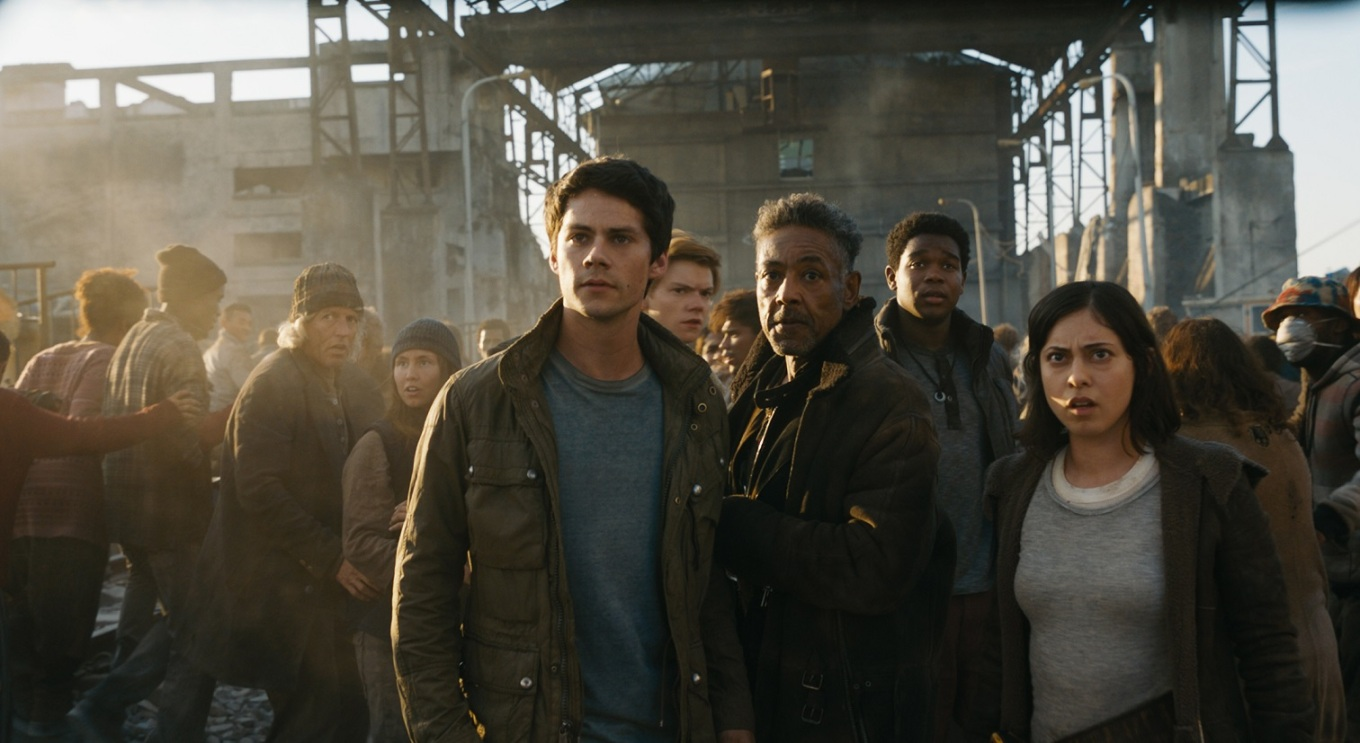 o'brien, giancarlo esposito, rosa salazar MAZE RUNNER THE DEATH CURE