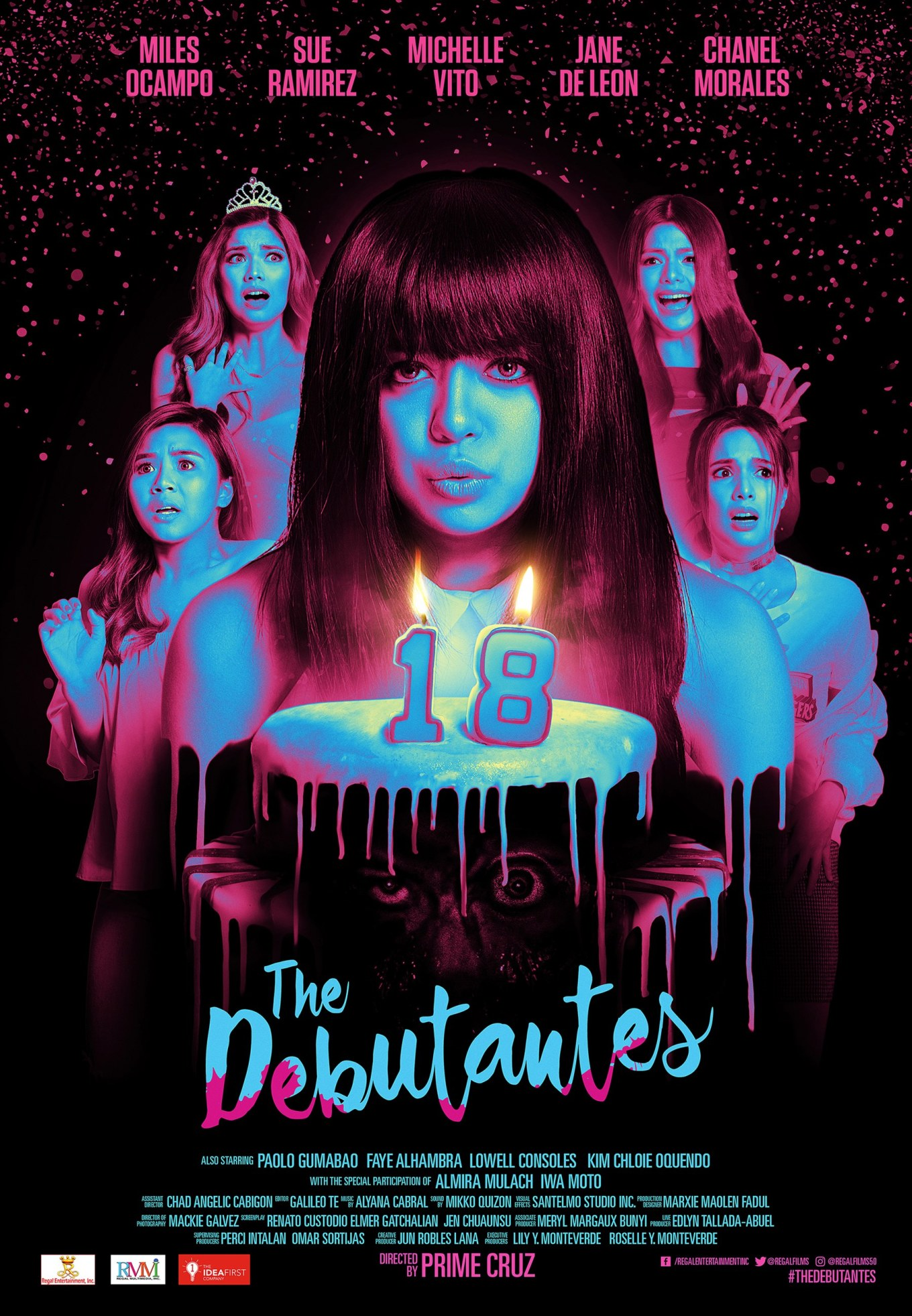 The Debutantes Poster