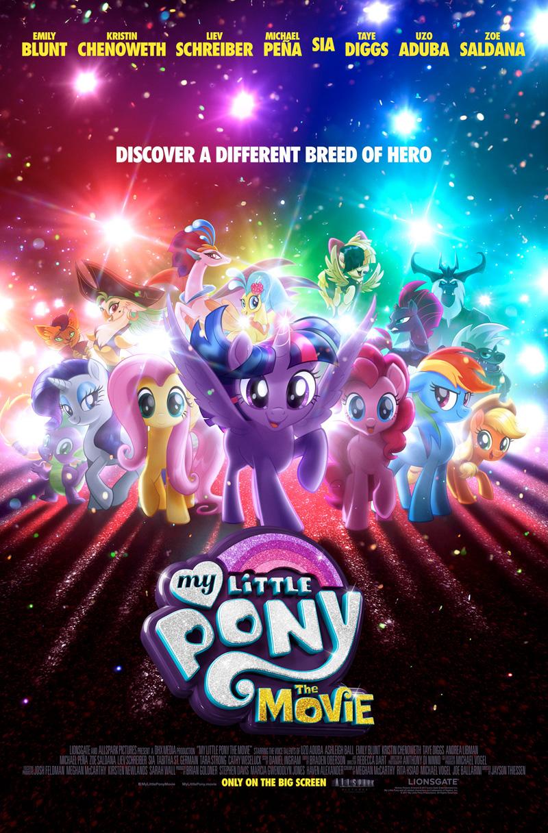 4 My Little Pony