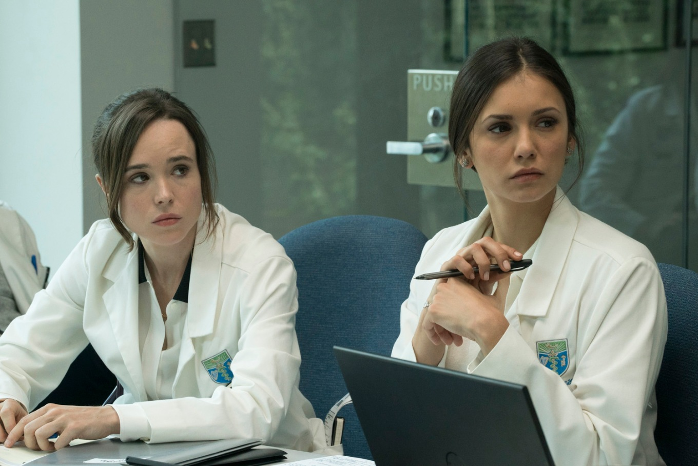 Ellen Page;Nina Dobrev