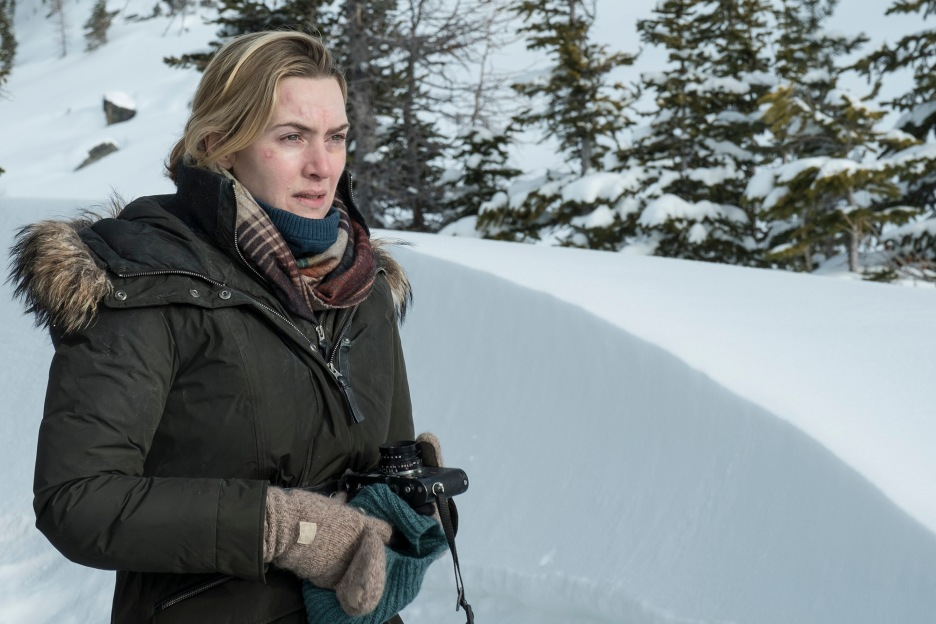 "Kate Winslet stars in Twentieth Century Fox's ""The Mountain Between Us."""