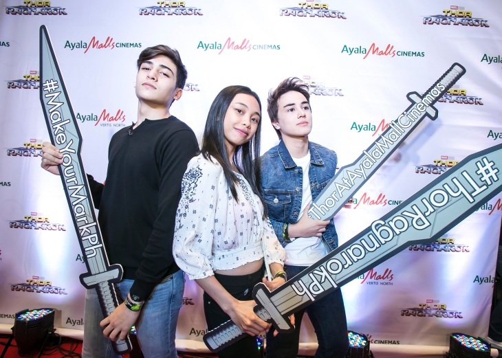 Marco Gallo, Maymay Entrata, and Edward Barber