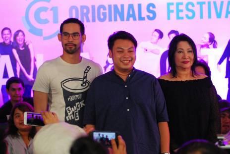 Paolo Paraiso, Paki director Giancarlo Abrahan and Dexter Doria