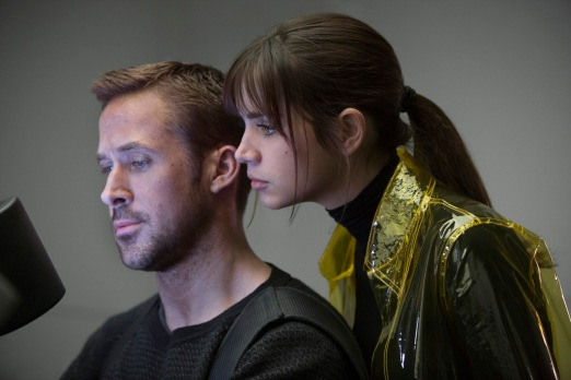 Ryan Gosling and Ana de Armas Blade Runner 2049 in association with Columbia Pictures, domestic distribution by Warner Bros. Pictures and international distribution by Sony Pictures Releasing International.