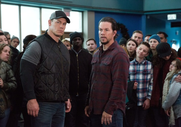 John Cena plays Roger and Mark Wahlberg plays Dusty in Daddy's Home 2 from Paramount Pictures.