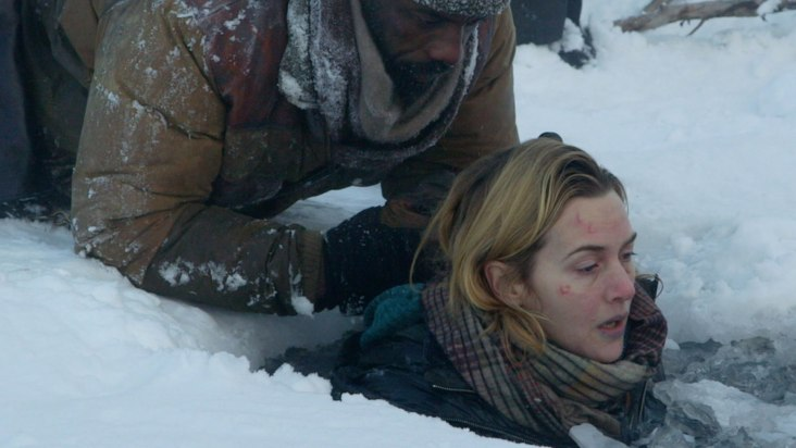 idris elba & kate winslet in THE MOUNTAIN BETWEEN US