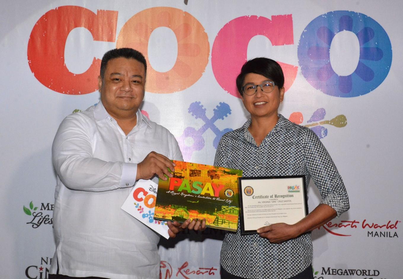 Pasay City Administrator Atty. Dennis Acorda and Gini Santos