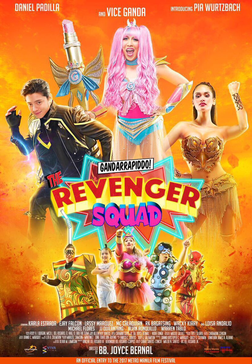25 The Revenger Squad