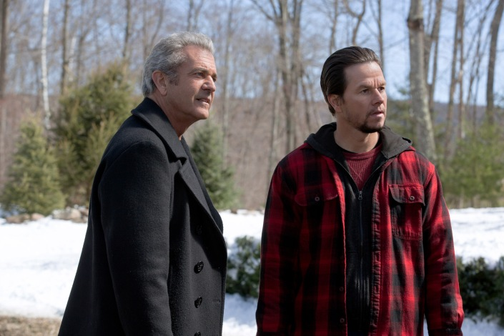 Mel Gibson plays Kurt and Mark Wahlberg plays Dusty in Daddy's Home 2 from Paramount Pictures.