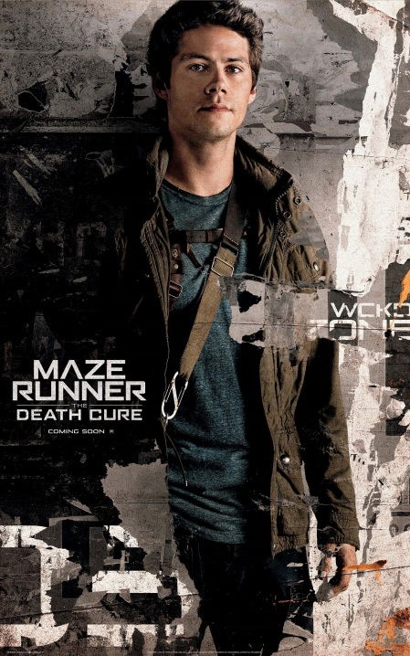 Dylan O'Brien in MAZE RUNNER THE DEATH CURE