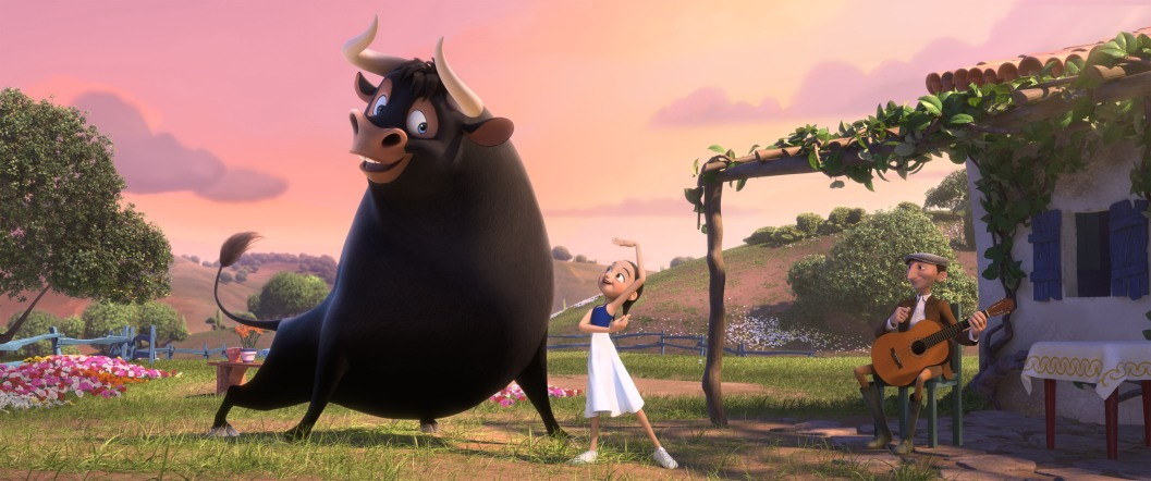 "Twentieth Century Fox and Blue Sky Studios present ""Ferdinand."""