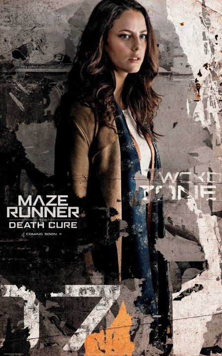 Kaya Scodelario in MAZE RUNNER THE DEATH CURE