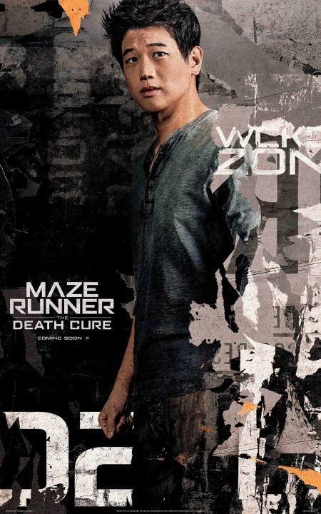 Ki Hong Lee in MAZE RUNNER THE DEATH CURE