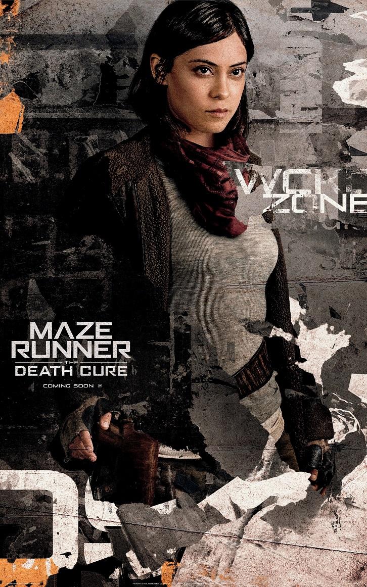 Rosa Salazar In Maze Runner The Death Cure Pelikula Mania