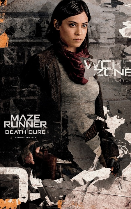 Rosa Salazar in MAZE RUNNER THE DEATH CURE