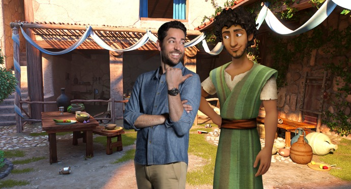 Zachary Levi voices Joseph for Sony Pictures Animations' THE STAR.