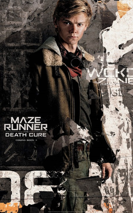 Thomas Brodie-Sangster in MAZE RUNNER THE DEATH CURE