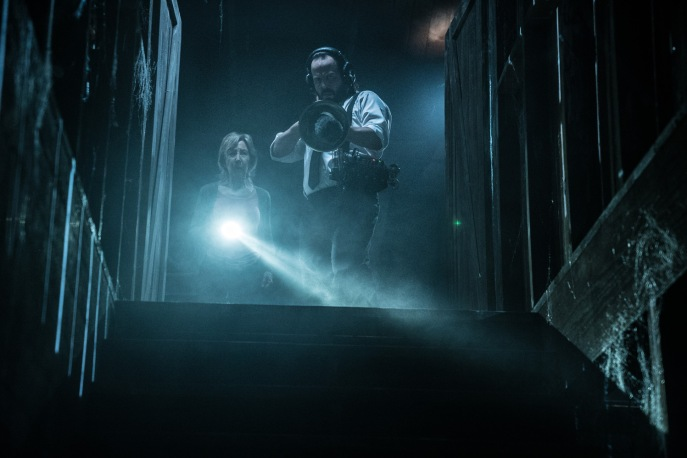 LIN SHAYE as Elise Rainier and ANGUS SAMPSON as Tucker in Insidious: The Last Key. The creative minds behind the hit Insidious trilogy return for the supernatural thriller, which welcomes back franchise standout Lin Shaye as Dr. Elise Rainier. In the film, the brilliant parapsychologist faces her most fearsome and personal haunting yet: in her own family home.