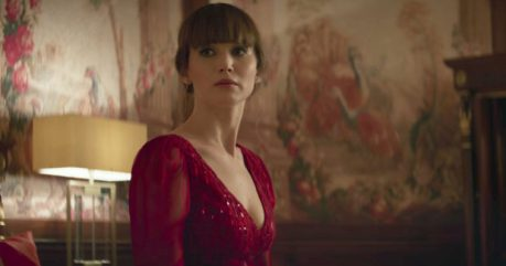 jennifer lawrence stars in RED SPARROW