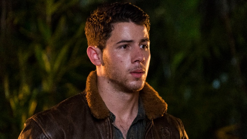 Nick Jonas star in JUMANJI: WELCOME TO THE JUNGLE