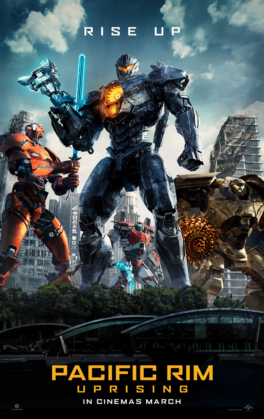 Pacific Rim Uprising Poster