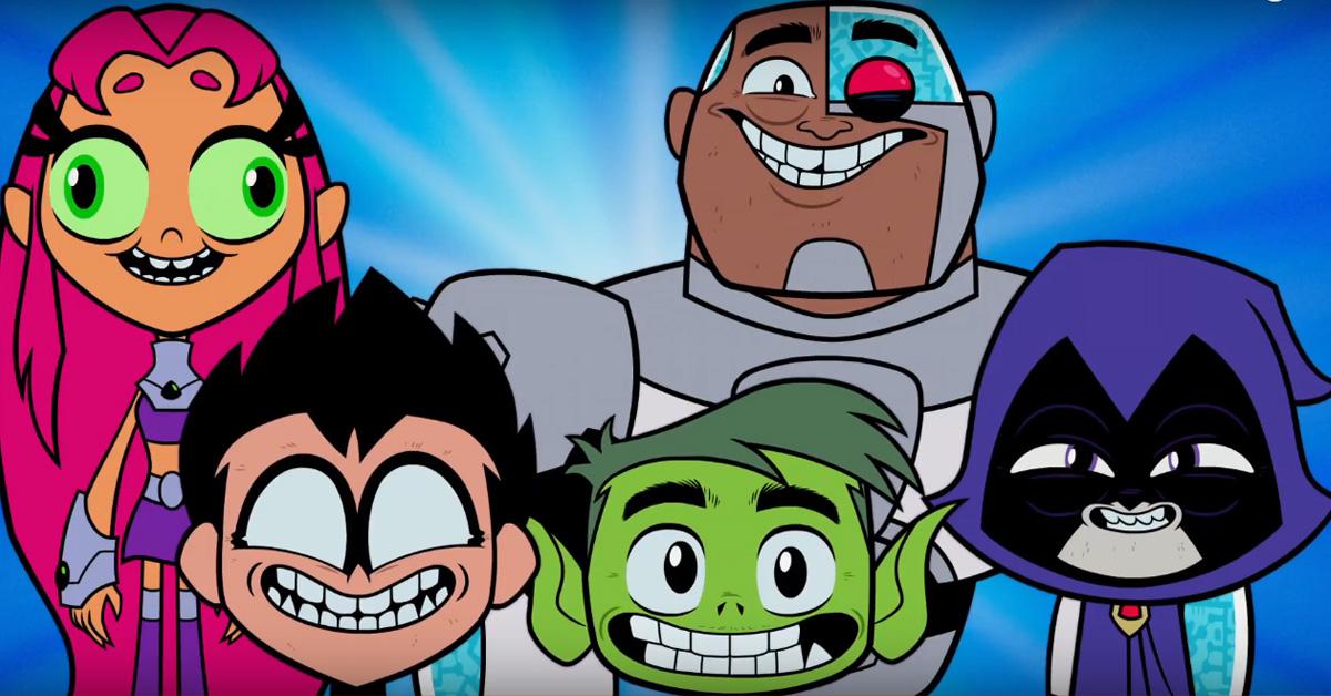 Teen Titans Go 01