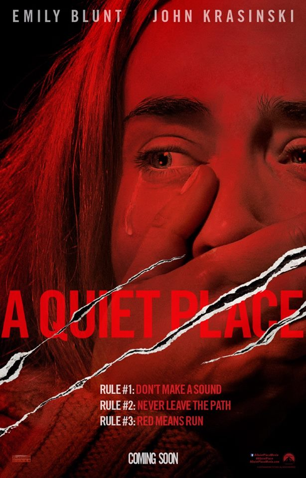 A QUIET PLACE - ONESHEET