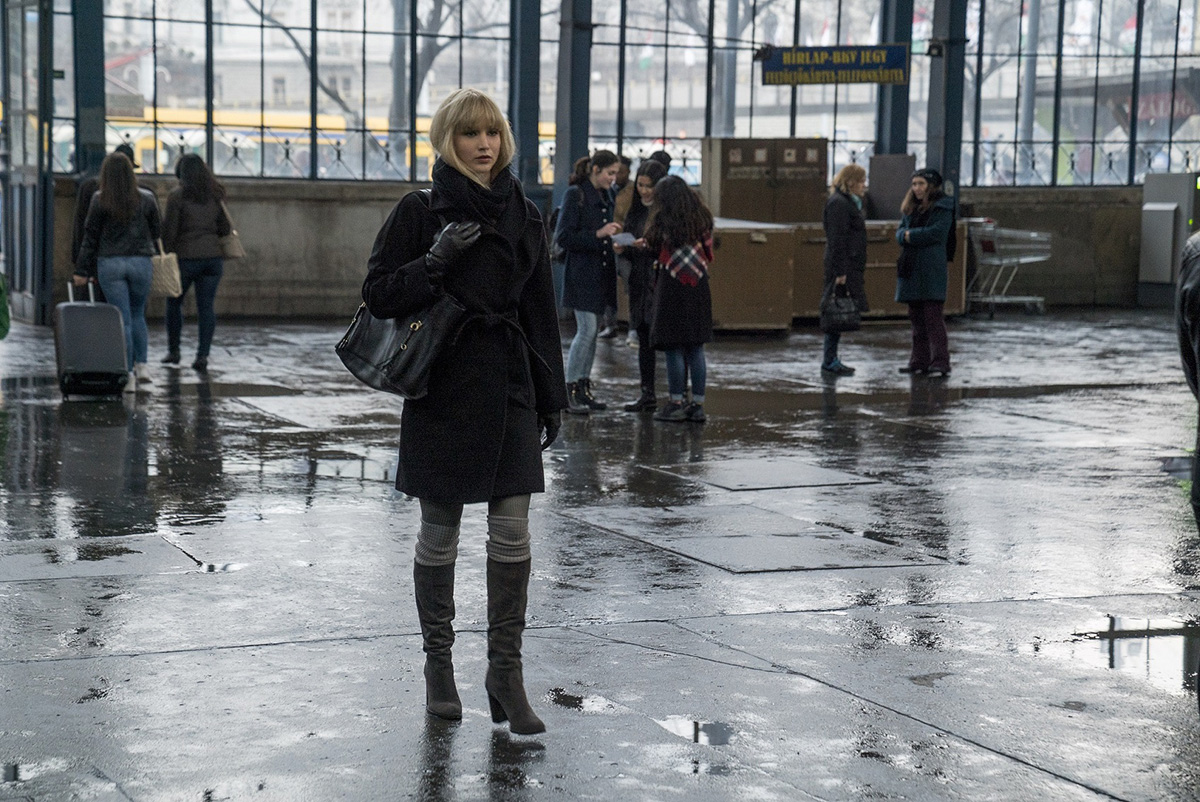 "Twentieth Century Fox's ""Red Sparrow."""