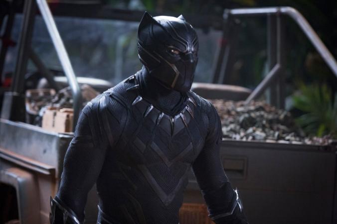 Marvel Studios' BLACK PANTHER..Black Panther/T'Challa (Chadwick Boseman) ..Ph: Matt Kennedy..©Marvel Studios 2018