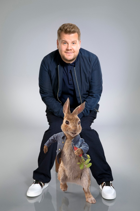 James Corden voices Peter Rabbit in Columbia Pictures' PETER RABBIT.