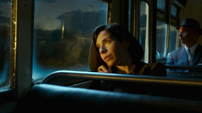 Sally Hawkins in the film THE SHAPE OF WATER.