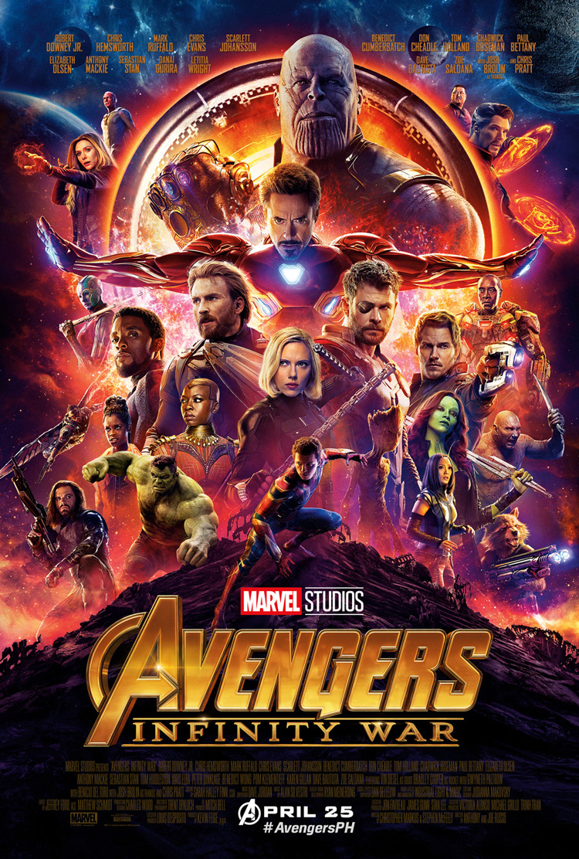 Avengers Infinity War PH Poster