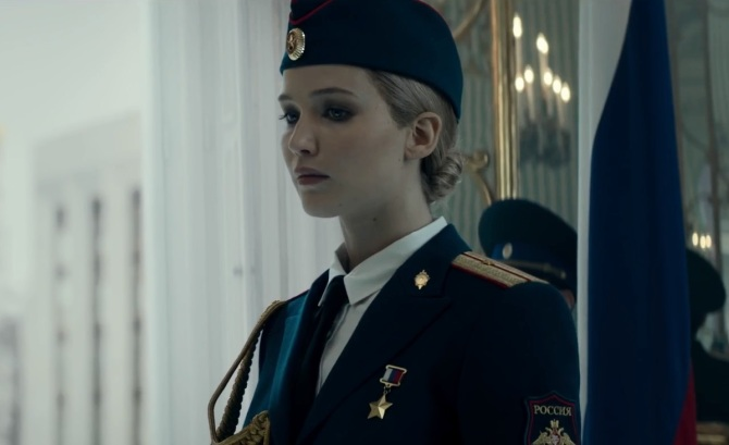 jennifer lawrence _ RED SPARROW