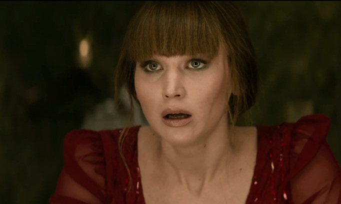 jennifer lawrence in RED SPARROW_