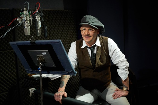 """Johnny Depp (""""Sherlock Gnomes"""") for Sherlock Gnomes from Paramount Pictures and MGM."""