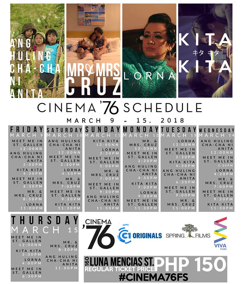 Sigrid Cinema 76 Sched