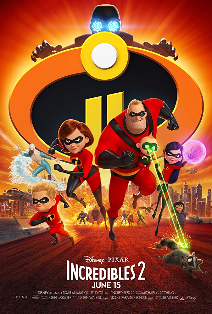 13 Incredibles 2