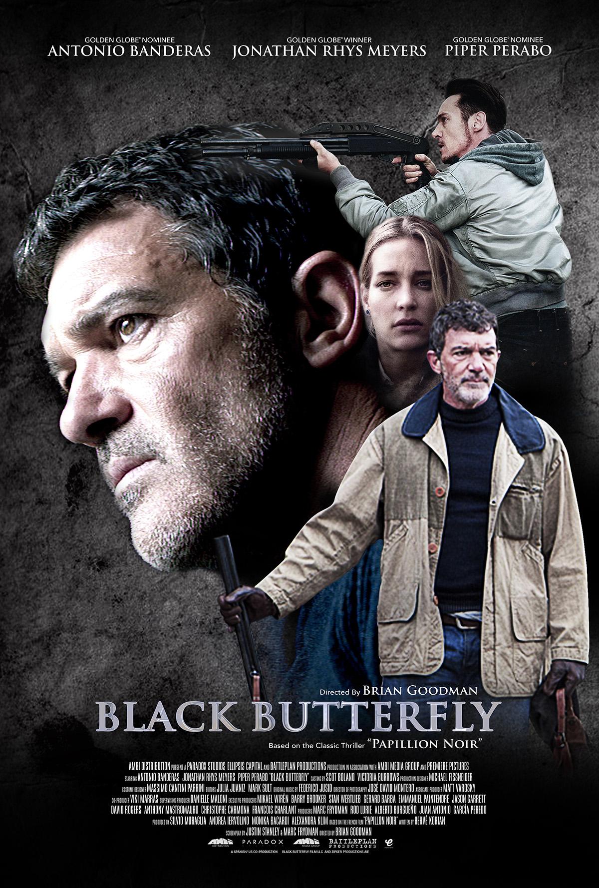 9 Black Butterfly