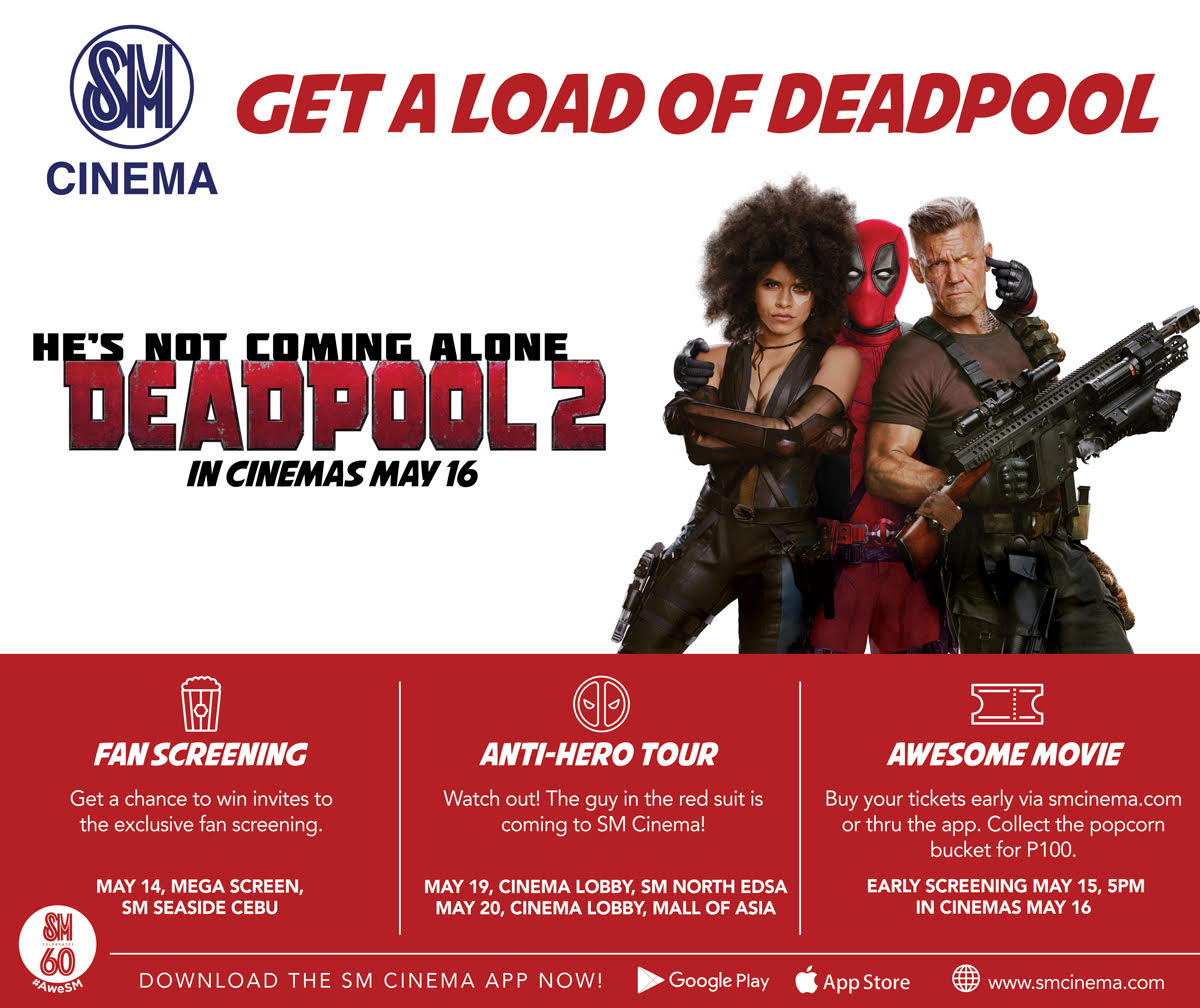 Deadpool 2 SM Cinema KV